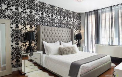 Как выбрать качественные обои для спальни
