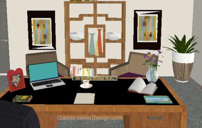 Как организовать пространство рабочего стола с помощью фен-шуй?