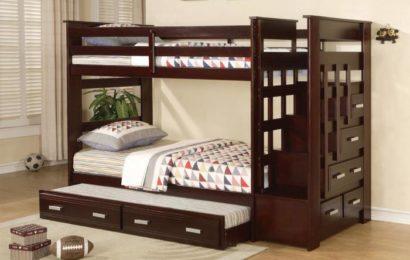 Двухъярусные кровати в интерьерах детских комнат