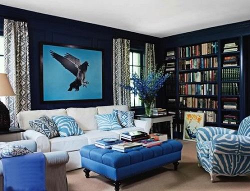 Что значит синий цвет по фен-шуй?