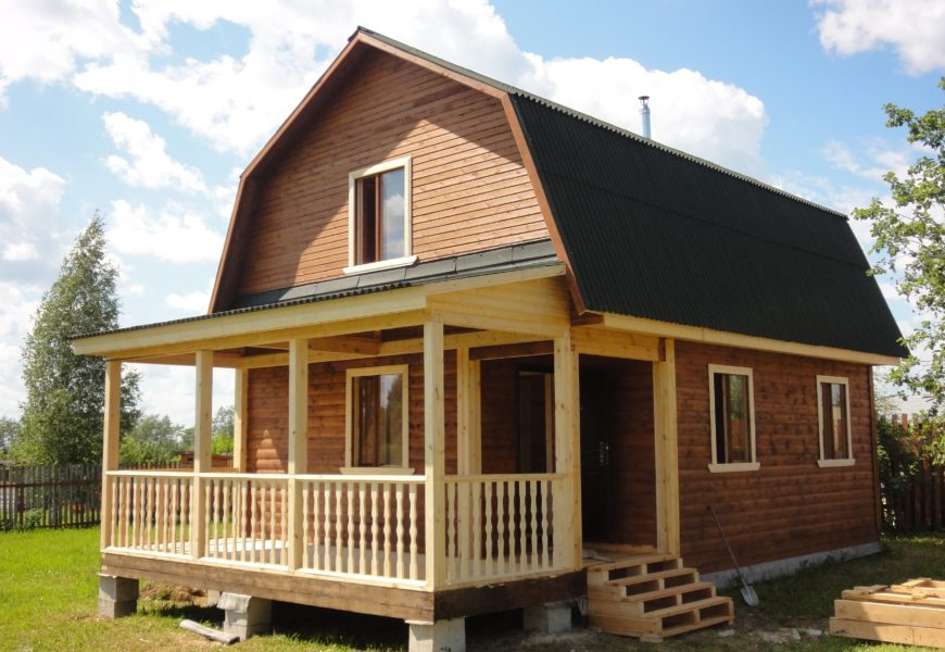 Дома из дерева — это экологичность, качество и долговечность сооружений