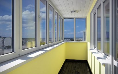 Обустройство балкона или лоджии