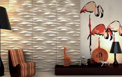 3D стеновые панели и их основные особенности