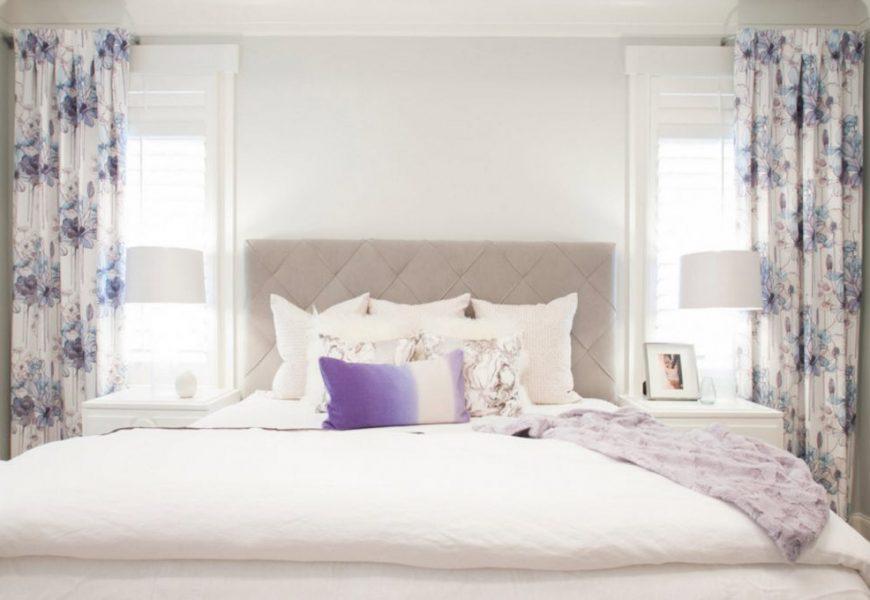 80+ Лучших фото-идей штор для спальни
