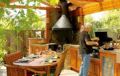 Летняя кухня на дачу