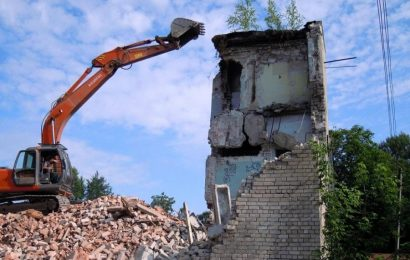 Виды и способы демонтажа зданий