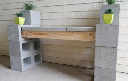 Идеи использования шлакобетонных блоков в ландшафтном дизайне