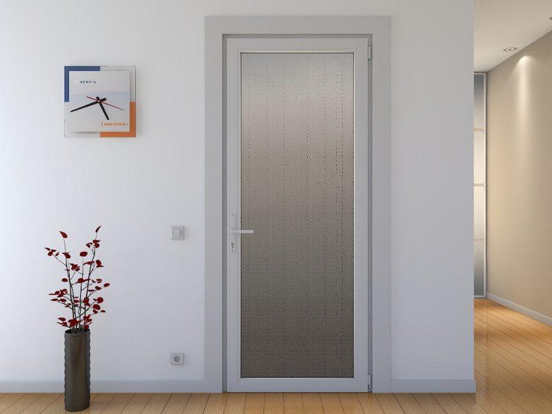 Пластиковая дверь и ее характеристики