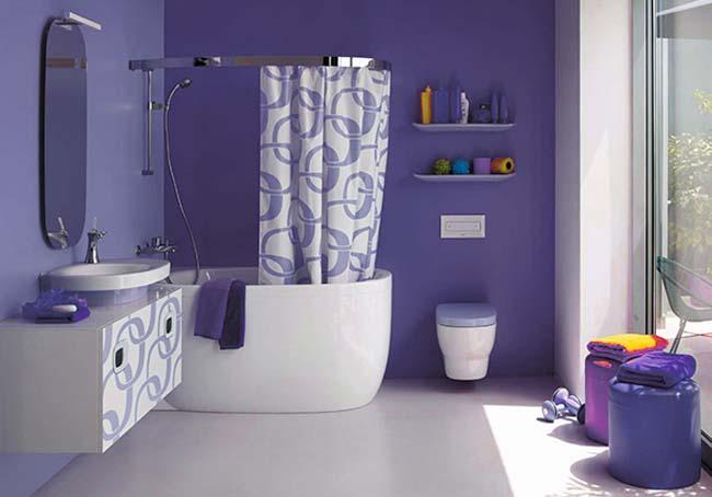 Различные способы украсить ванную комнату