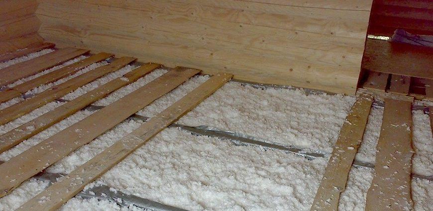 Утепление бетонного пола в доме или квартире