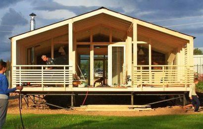 Что представляют собой конструкции модульных домов