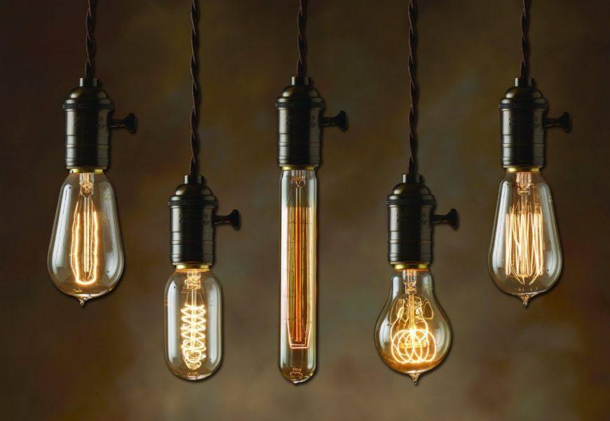 Светильник. Краткая история лампы