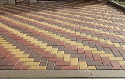 Тротуарная плитка. Виды тротуарной плитки