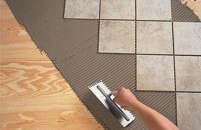 Монтаж плитки. Как правильно выбрать клей?
