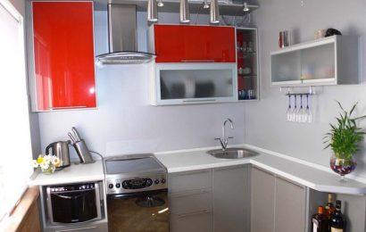 Оформление интерьера малогабаритной кухни
