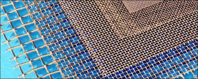 Сетки из нержавеющей стали: разновидности, особенности применения