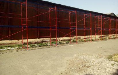 Подмости и вышки, необходимые при строительных работах