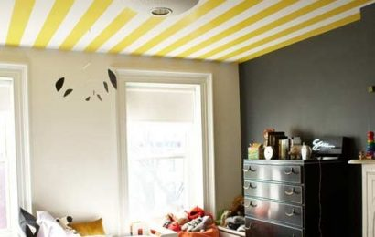 Как клеить на потолок обои: советы специалиста