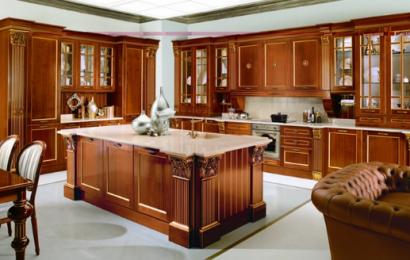 Как выбрать кухню из массива дерева?