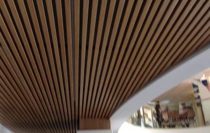 Реечный потолок, принцип, строение