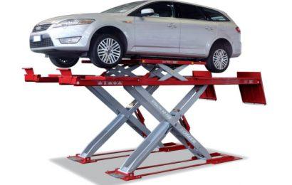 Для чего на станциях технического обслуживания авто установлены автоподъемники?