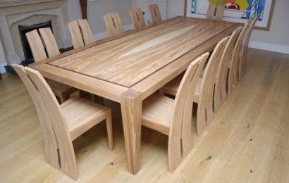 Деревянные столы для кухни: особенности