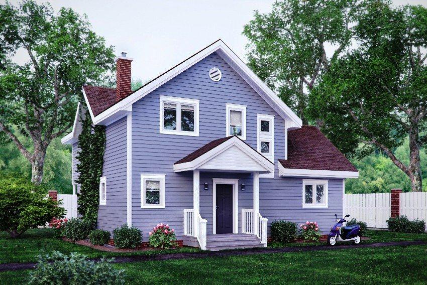 нюансы лайфхаки цветной фасад садовый домик фото сочетание цветовых
